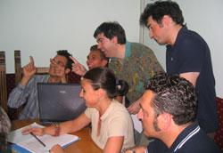 Al centro Claudio Braggio e Cristina Storaro