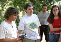Claudio Braggio (al centro)