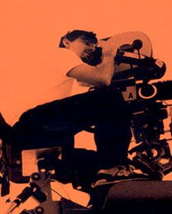 Ramon Salazar sul set del film Piedras