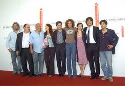 Il cast del film a Venezia