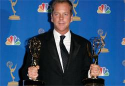 Kiefer Sutherland con due Emmy