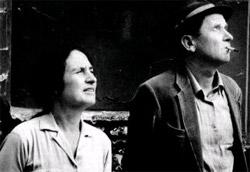 J.M. Straub con D. Huillet, quaranta anni fa