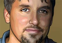 """<i>Richard Linklater in versione rotoscope</i>"""" />Abbiamo incontrato Richard Linklater, regista e sceneggiatore di <em><A href="""