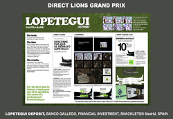 Campagna vincitrice nella categoria Direct Lions
