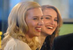 Scarlet Johansson e Natalie Portman