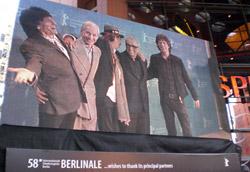 Martin Scorsese con i Rolling Stones
