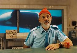 """Steve Zissou, <i>Le avventure acquatiche</i>"""" />delle relazioni. <strong>È, prima di tutto, un luogo. Uno spazio scenico, finto e vero, manipolato e genuino, nel quale i personaggi trovano la propria dimensione fisica</strong>. Dalla villa dei Tenenbaum, alla nave del team Zissou, fino al treno Darjeeling, i luoghi nel cinema di Anderson prima esistono e un attimo dopo non esistono più. Così come le pareti, le mura, le porte, le finestre, gli oblò, i vagoni, i bauli. Tutto è inaccessibile e poi tutto è aperto.<br /> Sono luoghi forse metaforici che rincorrono il senso del gioco, lo stupore dell'immaginazione ludica, la simpatia per l'invenzione e l'improvvisazione (il teatro è per questo una magnifica ossessione: basti pensare a Max Fisher in <em>Rushmore</em>, al ruolo di Margot Tenenbaum, drammaturga anoressica di spessore mondiale, e al fatto che <em>]<A href="""