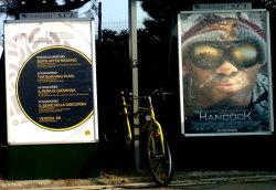 Una rarità: la locandina di una commedia! Ma il film non non è presente alla Mostra...