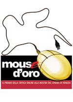 Il logo del Mouse d'Oro, il premio della critica online alla Mostra del Cinema di Venezia