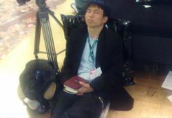 In sala stampa c'è chi scrive... e chi dorme