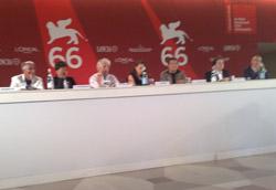 La tanto contestata conferenza stampa del film di Michele Placido