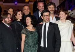 Il cast del film di Silvio Soldini a Berlino