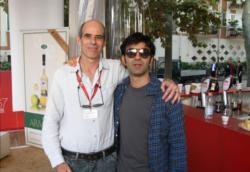 Samuel Maoz e Fatih Akin in pausa al Lido