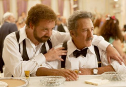 Paul Giamatti e Dustin Hoffman in Barney's Version
