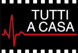 Il logo della protesta in atto a Roma