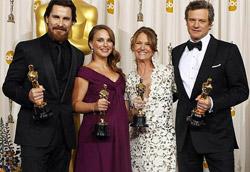 I quattro attori premiati dall'Accademy