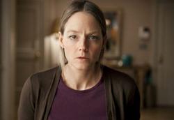 Jodie Foster in una scena di Carnage