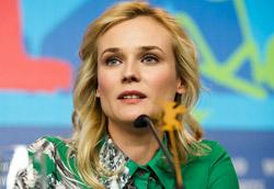 Diane Kruger durante la conferenza stampa di Les Adieux a la Reine
